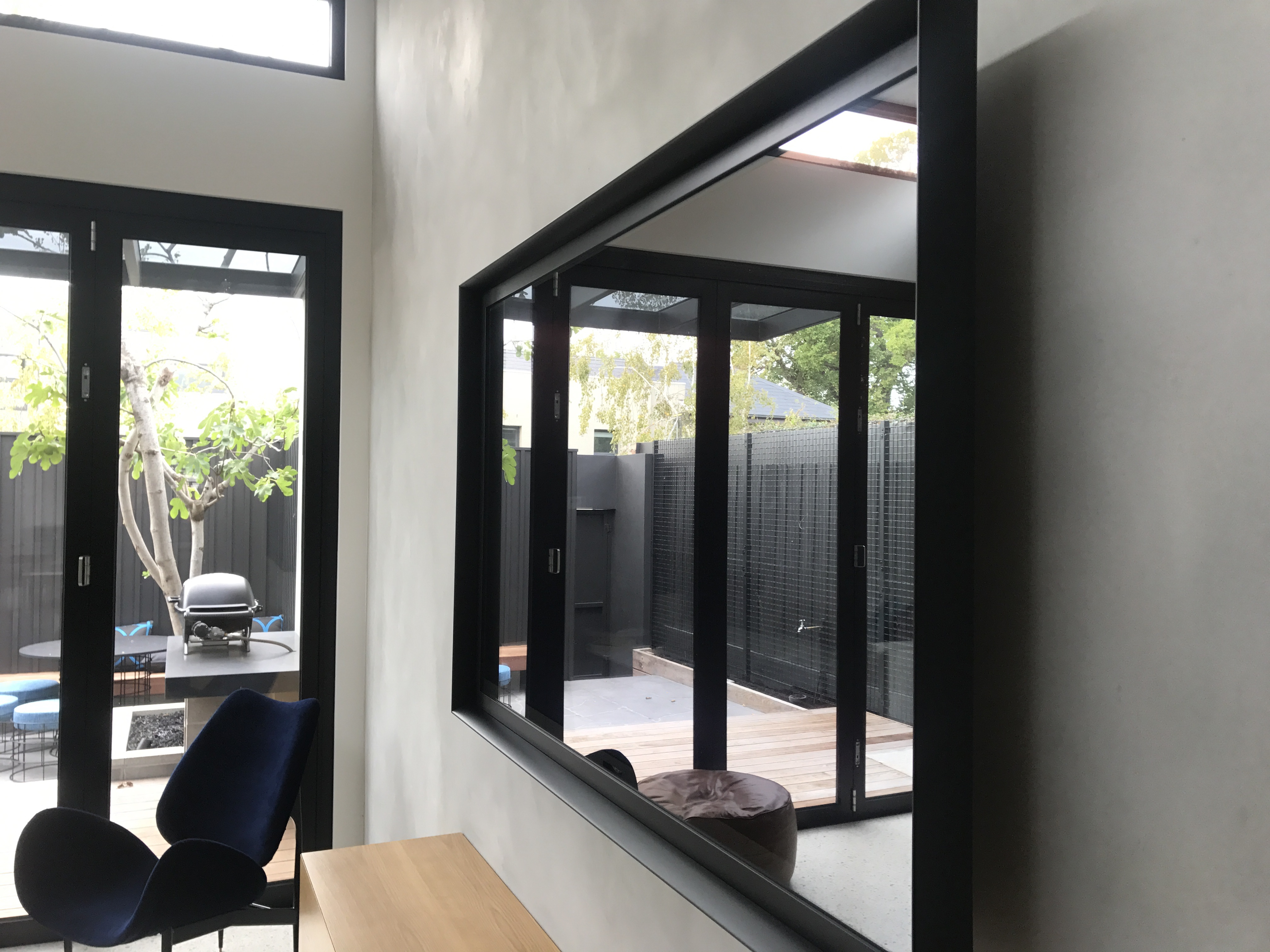 Mirror Tv Frame #1 (Tv Guy) Slim Line two way glass 0418504488