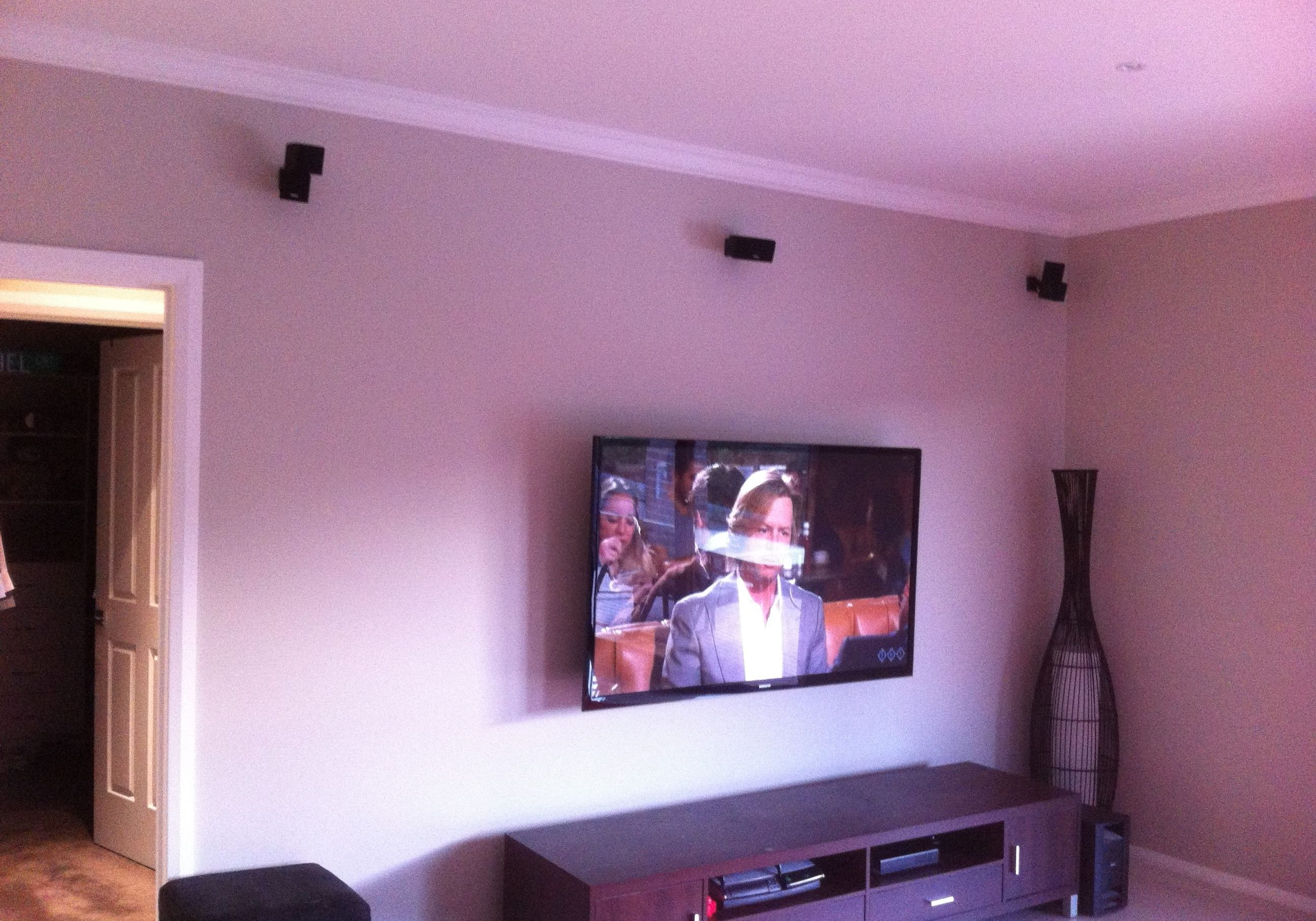 bose speakers tvwall